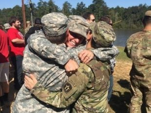 First Female Army Reserve Graduate of Army Ranger School