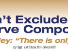 Don't Exclude the Reserve Component - There is only one Army!