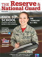 September 2017 Reserve and National Guard Magazine
