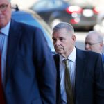 Gen. James E. Cartwright arriving Monday at United States District Court in Washington, where he agreed to plead guilty. Credit Pablo Martinez Monsivais/Associated Press