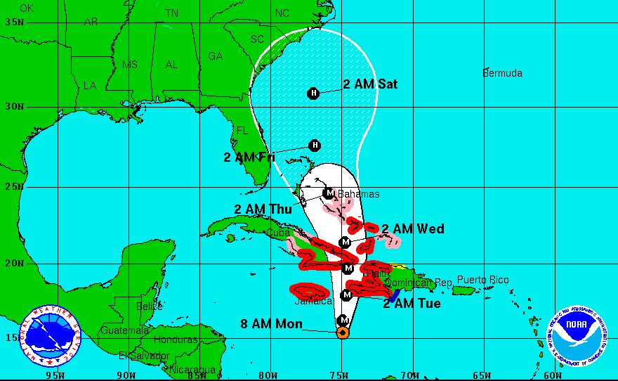 US Military in Cuba prepares for Matthew's landfall