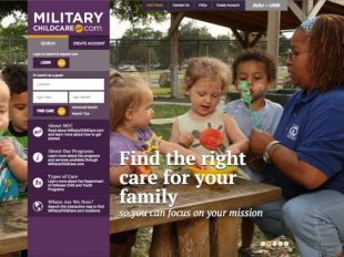 Military parents who are looking for child care, whether they need full-time infant care at a child development center, or after-school programs for a grade schooler, now have a new way to research and request that care and manage waitlists through Militarychildcare.com. It will soon be available on every installation and required throughout the Army.