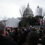 My view of the inauguration