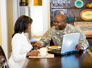 There are some scholarships designed for military spouses pursuing online degrees. (VIDEO1/GETTY IMAGES)