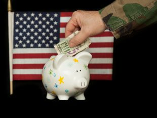 military retirement finances