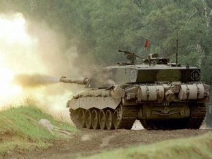 Britain's Challenger 2 tanks could be on the front line of defences in any military crisis in Eastern Europe