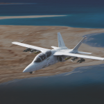 Textron AirLand's armed Scorpion Courtesy of Textron AirLand