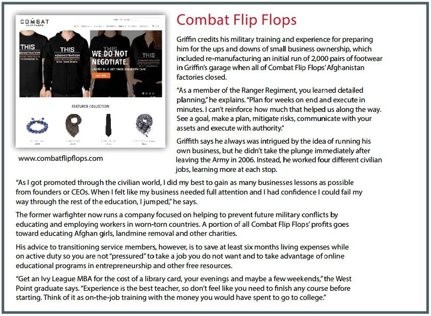 Combat Flip Flats