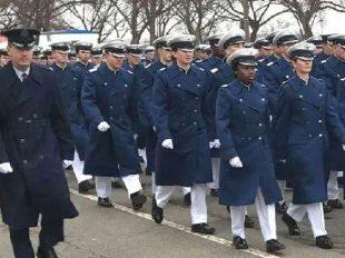 U.S. Air Force Academy at the 2017 Inaugural Day parade