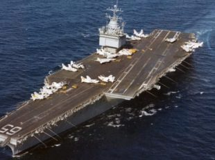 USS Enterprise in 1978(Credit: US Navy)