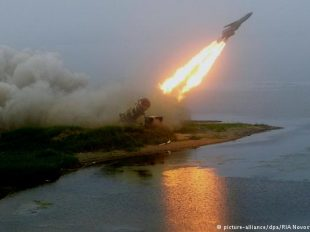 File picture of Russian anti-ship missile