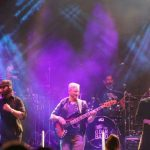 A cover band featuring actor Gary Sinise played Barksdale Air Force Base Friday night with music from a variety of time periods and genres. (Photo: Sarah Crawford/The Times)