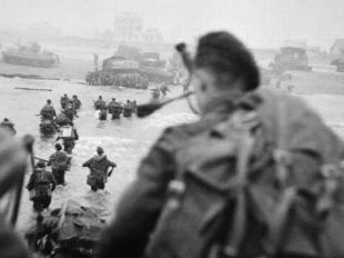 D-Day June 1944: 75 years on a memorial will be built to remember those who died CREDIT:  GETTY IMAGES