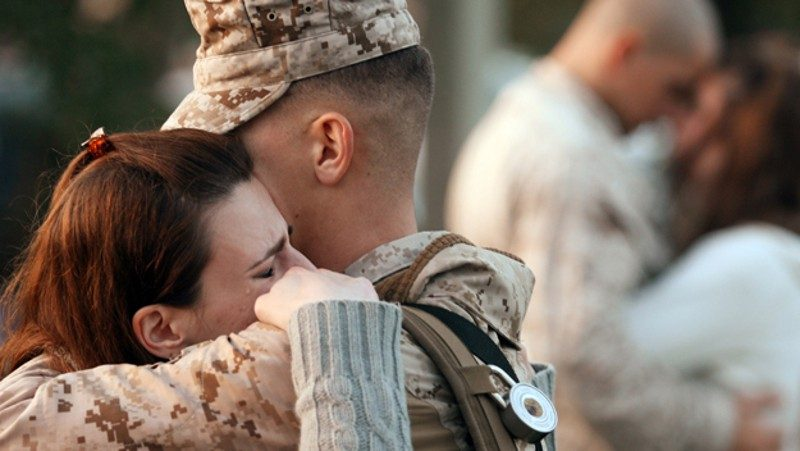 Two Ohio lawmakers say they want to make it easier for active duty service members and military spouses to obtain a occupational license in their career field when they move to the Buckeye State. (Photo by Logan Mock-Bunting/Getty Images)