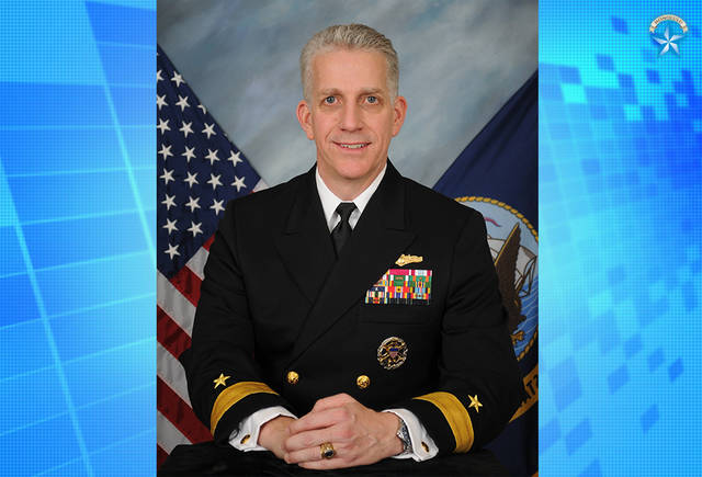 This undated image released by the U.S. Navy shows Rear Adm. Bruce Loveless.