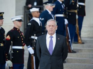 Defense Secretary Jim Mattis will have more independence in decision-making on military matters under President Trump than his predecessors had under President Barack Obama. Credit Cliff Owen/Associated Press