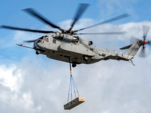 LOCKHEED MARTIN'S NEW HEAVY-LIFT CH-53K COULD LIFT LOCKHEED'S BOTTOM LINE AS WELL. IMAGE SOURCE: LOCKHEED MARTIN.