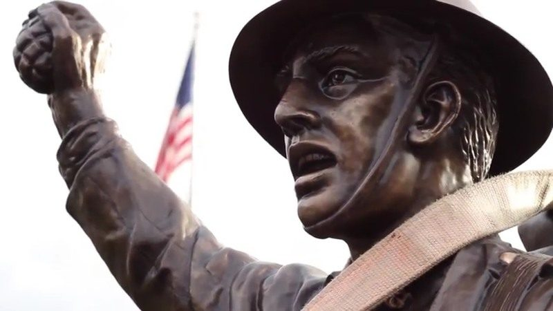 Viquesney's Spirit of the American Doughboy in Morehead, Kentucky, dedicated in 1929. KENTUCKY.COM/CC BY 2.0