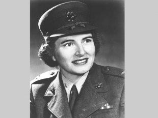 Julia E. Hamblet, former director of the Women Marines of the U.S. Marine Corps. (U.S. Marine Corps/U.S. Marine Corps)