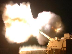 An Army Howitzer is now firing a super high-speed, high-tech, electromagnetic Hyper Velocity Projectile, initially developed as a Navy weapon.