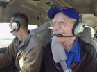 Bill Finlay got a chance to fly again for the first time in nearly 40 years for his 98th birthday. (CBC)