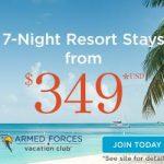 7-Night Resort Stays from $349.00