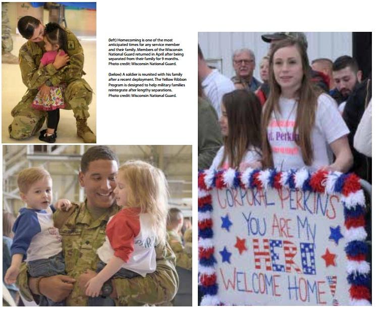 homecoming military