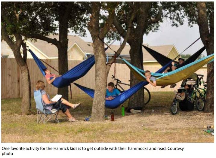 homschooling hamrick kids