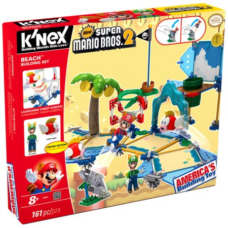 sets from LEGO and K'NEX